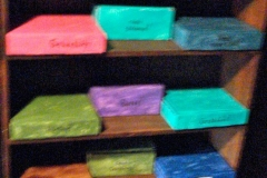 Another shelf of gift boxes